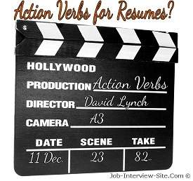 Resume Action Verbs for Resumes – Action Verb List