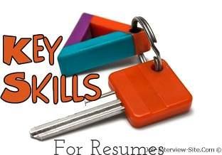 Key Skills for Resumes @