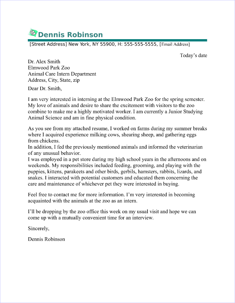 Warehouse Worker Cover Letter Sample