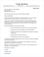 ... 139 Accounting Clerk Cover Letter 180x233 ...