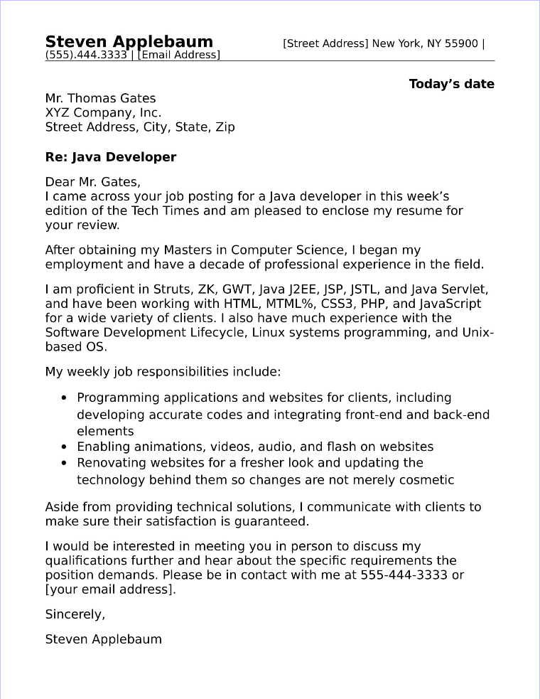 Cover Letter For Tech from www.job-interview-site.com