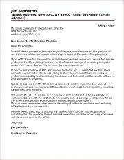 technician cover letter samples - Topa.mastersathletics.co