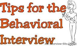 Sample Behavioral Job Interview Questions And Answers