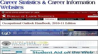 Career Information Websites: Where to Find Career Statistics