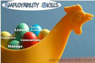 Employability Skills Checklist List Of Employability Skills