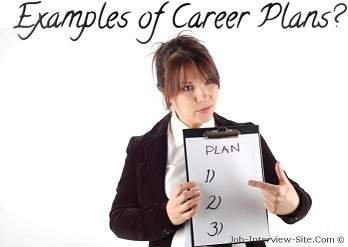 Sample Career Plans Examples Of Career Plans