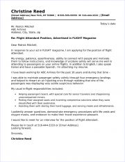 flight-attendant-cover-letter-180x233 Template Cover Letter For Career Change Flight Attendant Example Vyxn on
