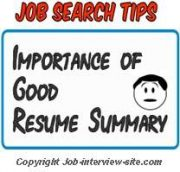 resume summary statement importance and how long it should be - Resume Qualifications