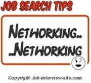 active job search techniques networking is a new tactic for searching a job - Job Searching Tips