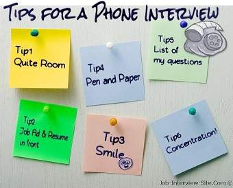 Top Phone Interview Tips To Help You Get A Second Interview