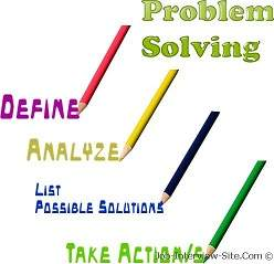 Creative problem solving interview questions and answers