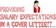 how to write salary expectations in a cover letter - salary requirements cover letter with salary requirements