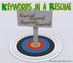 resume keywords for resumes keywords list