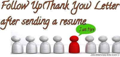 Job Interview U0026 Career Guide  Follow Up Email After Resume Submission