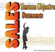 main topics - Sales Resume Objective Statement