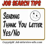 post interview thank you notes follow up after an interview