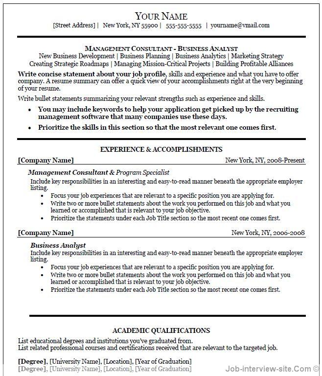 Resume Examples Resume Examples It Professional Sample Resume