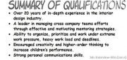 Resume Qualifications Examples: Resume Summary Of Qualifications  Summary Of Qualifications Examples For Resume