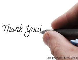 after interview thank you email example thank you letter after a job interview