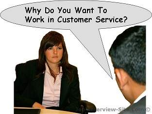 Why Do You Want To Work In Customer Service Interview